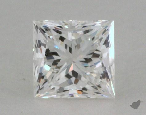 0.54 Carat F-SI1 Very Good Cut Princess Diamond