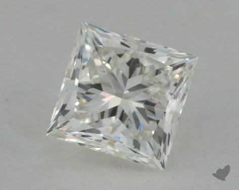 0.57 Carat H-VVS2 Ideal Cut Princess Diamond
