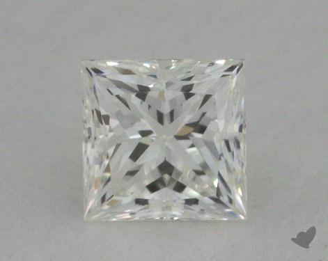 0.51 Carat I-VVS2 Very Good Cut Princess Diamond