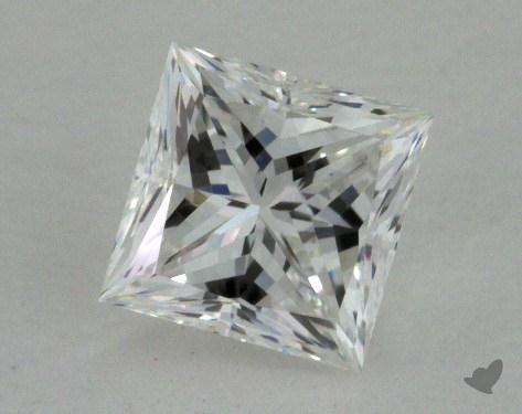0.70 Carat E-SI1 Very Good Cut Princess Diamond