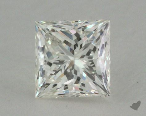 0.72 Carat J-VVS1 Ideal Cut Princess Diamond