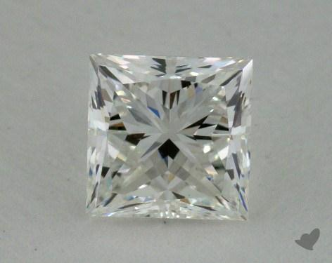 0.77 Carat H-VVS2 Ideal Cut Princess Diamond