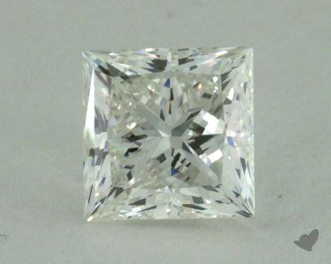 0.63 Carat G-VVS1 Ideal Cut Princess Diamond