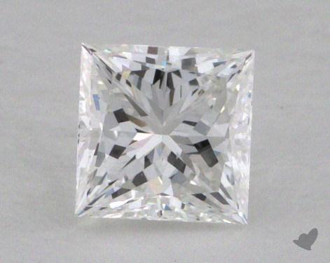 0.55 Carat F-VVS2 Ideal Cut Princess Diamond