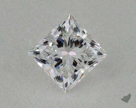 0.51 Carat D-VS1 Very Good Cut Princess Diamond