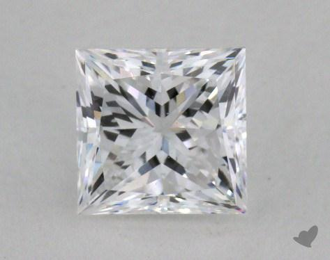 0.84 Carat D-SI1 Princess Cut  Diamond