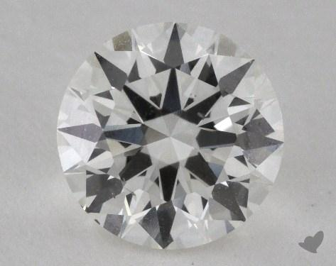 1.56 Carat I-SI1 Excellent Cut Round Diamond