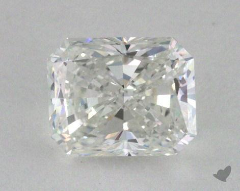 1.05 Carat F-IF Radiant Cut Diamond