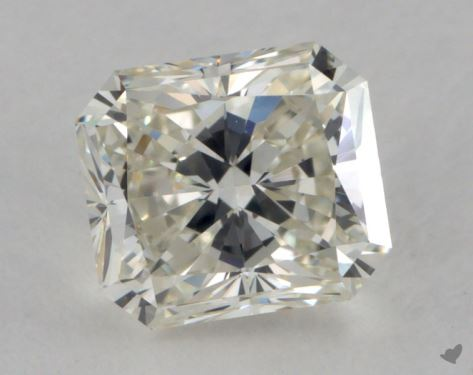 1.00 Carat K-VVS1 Radiant Cut Diamond