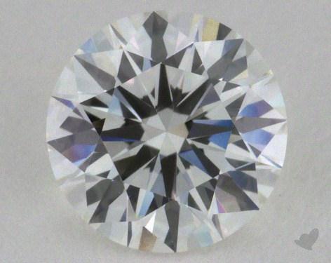 0.81 Carat H-VVS2 Excellent Cut Round Diamond