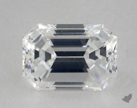 1.70 Carat E-VS1 Emerald Cut  Diamond