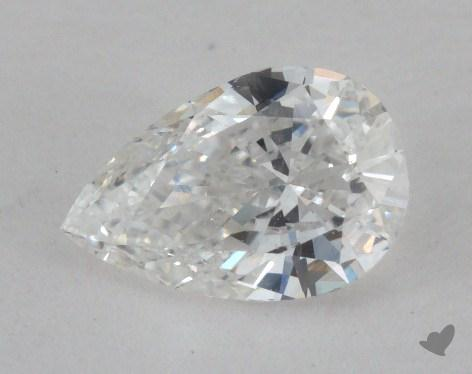 0.62 Carat F-SI1 Pear Shaped  Diamond