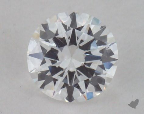 0.48 Carat E-VVS1 Very Good Cut Round Diamond