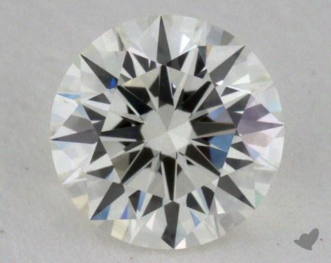 0.60 Carat I-VVS1 Excellent Cut Round Diamond