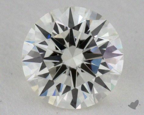 0.60 Carat I-VVS1 Excellent Cut Round Diamond