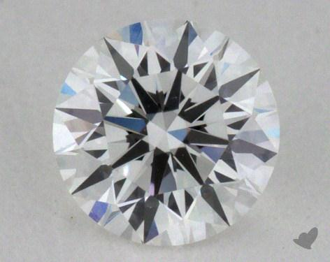 0.32 Carat F-IF Excellent Cut Round Diamond 