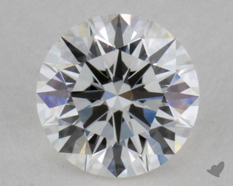 0.38 Carat G-VVS2 Excellent Cut Round Diamond
