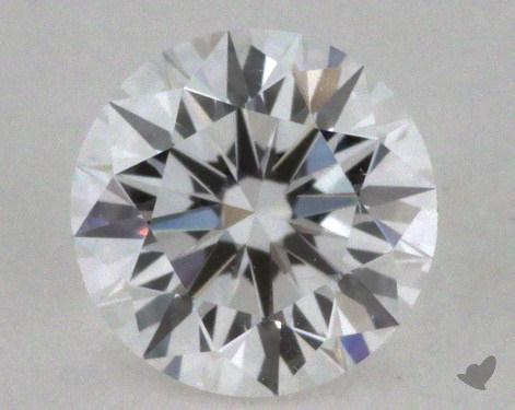 0.39 Carat D-SI1 Excellent Cut Round Diamond 