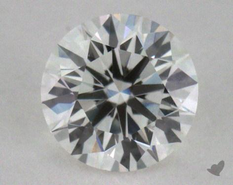 0.39 Carat F-SI2 Excellent Cut Round Diamond