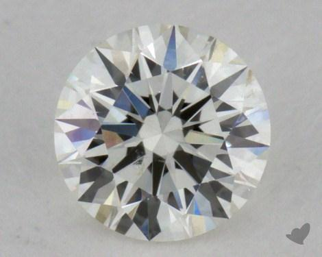 0.34 Carat H-SI1 Excellent Cut Round Diamond