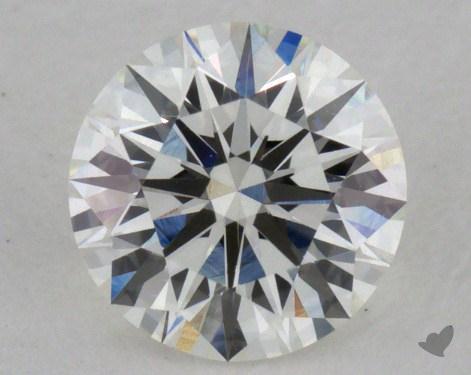 0.54 Carat I-SI1 Excellent Cut Round Diamond