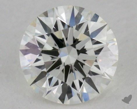 0.65 Carat I-VS2 Excellent Cut Round Diamond