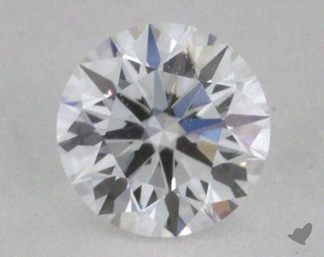 0.32 Carat D-IF Excellent Cut Round Diamond