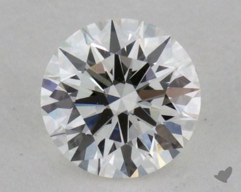 0.42 Carat H-VVS2 Excellent Cut Round Diamond