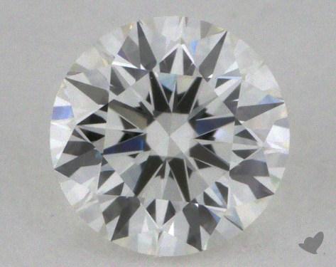 0.41 Carat F-VVS2 Excellent Cut Round Diamond