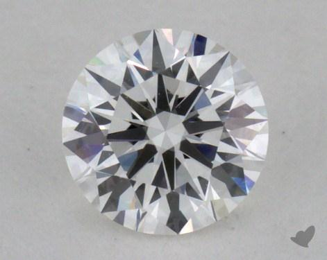0.37 Carat F-VVS2 Excellent Cut Round Diamond