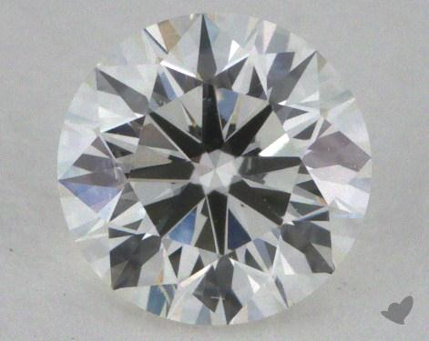 0.56 Carat H-SI1 Excellent Cut Round Diamond