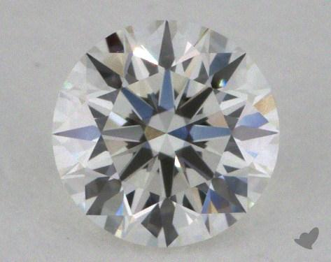 0.37 Carat H-VS1 Excellent Cut Round Diamond