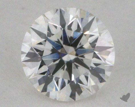 0.35 Carat H-VS2 Excellent Cut Round Diamond