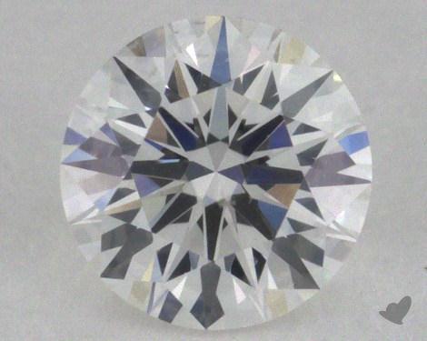 0.42 Carat F-SI1 Excellent Cut Round Diamond