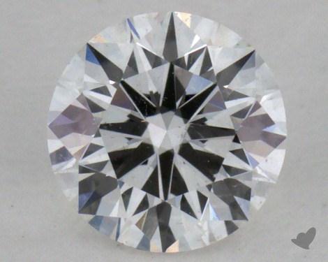 0.43 Carat F-SI1 Excellent Cut Round Diamond