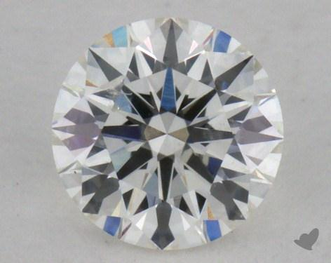 0.41 Carat H-SI2 Excellent Cut Round Diamond