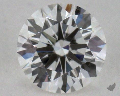 0.55 Carat G-VS2 Excellent Cut Round Diamond