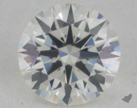 0.53 Carat H-SI2 Excellent Cut Round Diamond