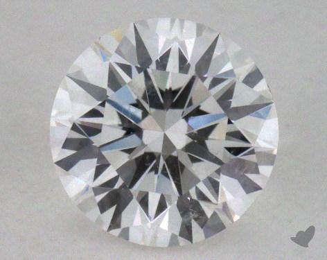 0.63 Carat F-SI2 Excellent Cut Round Diamond