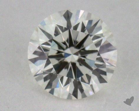 0.33 Carat J-VVS2 Excellent Cut Round Diamond