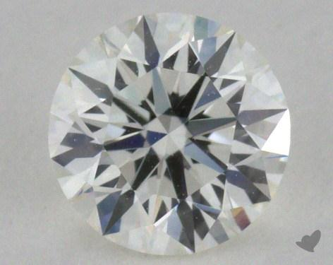 0.37 Carat J-VVS2 Excellent Cut Round Diamond