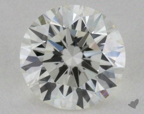 0.64 Carat J-VS1 Excellent Cut Round Diamond