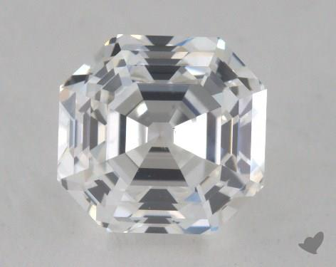0.90 Carat F-VS2 Asscher Cut  Diamond