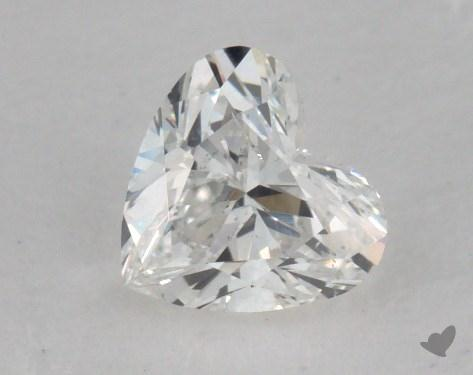 0.52 Carat G-SI1 Heart Cut Diamond 