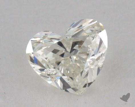 0.42 Carat J-VS1 Heart Cut Diamond