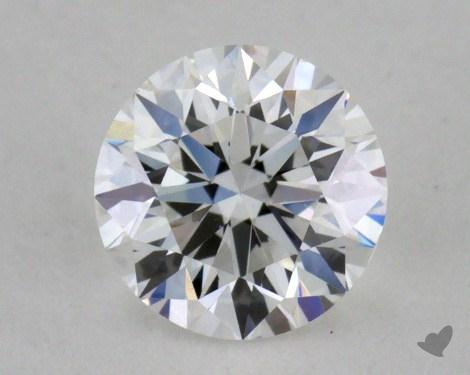 0.51 Carat E-VS1 Very Good Cut Round Diamond