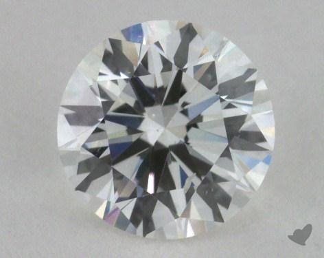 0.72 Carat F-SI1 Excellent Cut Round Diamond