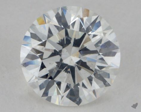 2.21 Carat F-SI2 Excellent Cut Round Diamond
