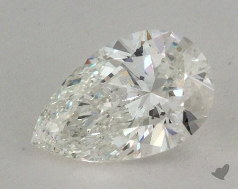 1.22 Carat I-SI2 Pear Shaped  Diamond
