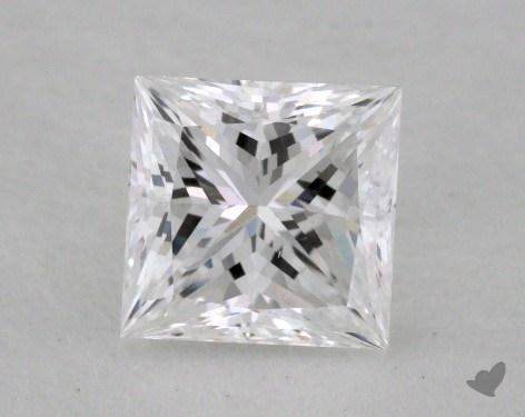 1.06 Carat D-IF Ideal Cut Princess Diamond